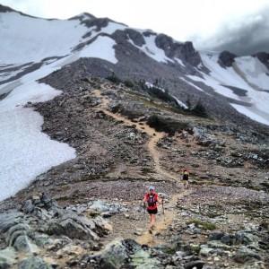 Making our way up to Panorama Ridge.
