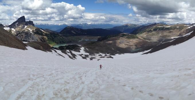 Shortcut down from Panorama Ridge
