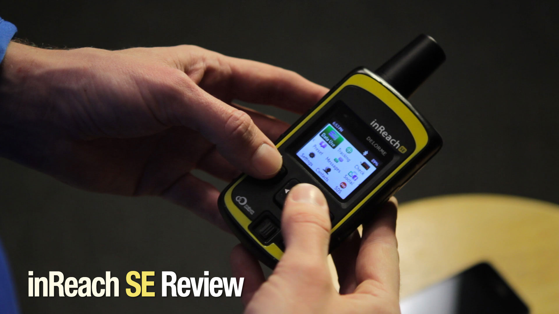 Delorme inReach SE Review