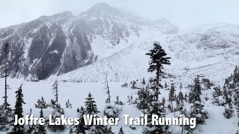 Joffre Lakes Trail Running Video