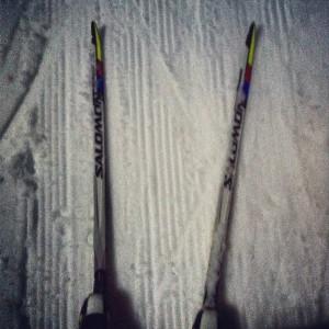 Skate Skiing