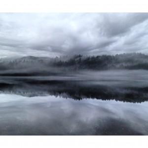 Fog over Buntzen Lake