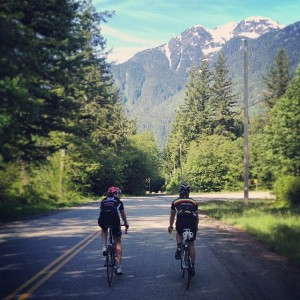 Cycling in Squamish