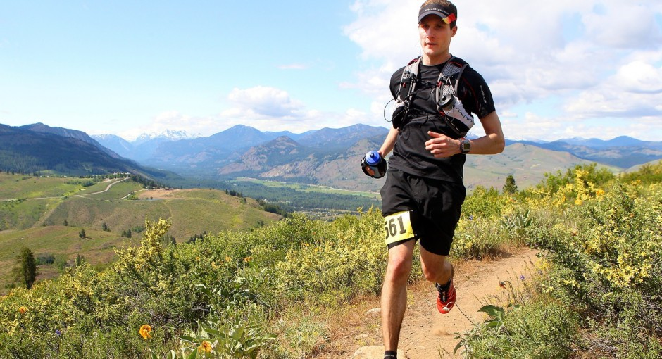 Me at the 2013 Sun Mountain 50 Miler.