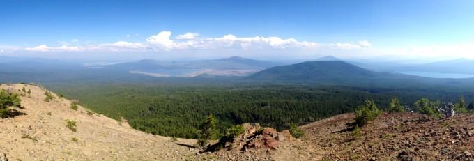 View from Maiden Peak