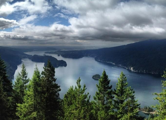 View from Diez Vistas
