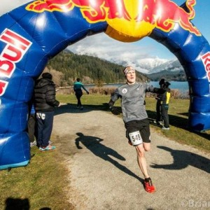 Crossing the Line at Cap Crusher 8k