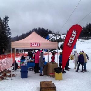 Yeti Cypress Snowshoe Race.