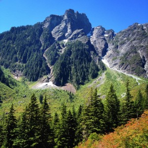 View of Golden Ears Summit