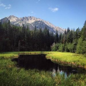 Pond on Jewel Creek Trail
