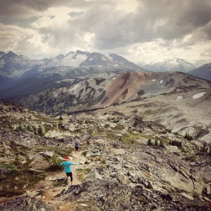 Whistler Alpine on High Note Trail