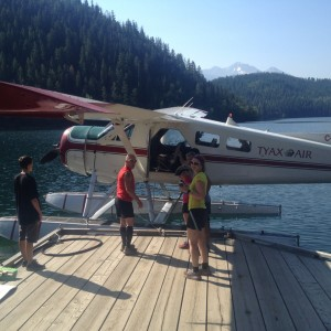 Float plane from Tyax
