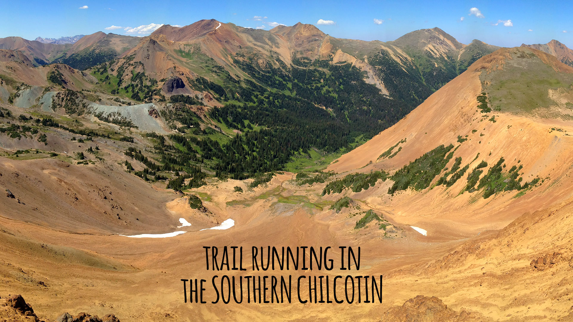 Southern Chilcotin Trail Running