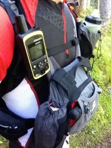 InReach SE tracking along the way