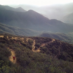Switchbacks to Hot Springs Canyon