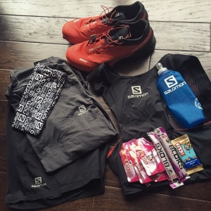 Gear and nutrition ready