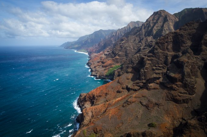 A different perspective on the Kalalau Trail