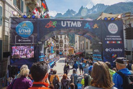 UTMB Finish Line